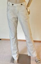 Nwt Morphine Generation Designer Slim Bootcut Denim Jeans 30 10 Coated Gray $215