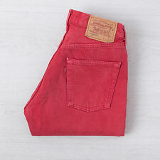 Levis 501 Original Button Fly Jeans W29 L32 Straight Leg High Rise Boyfriend