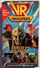 "VR Troopers (Prev. Viewed VHS) ""Error In The System"" VERY RARE!! HTF!!"