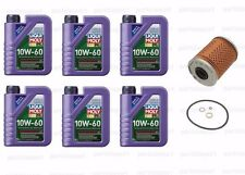 6L Synthetic Engine Oil 10W-60 + Oil Filter BMW E46 M3 2001-2006 Z3 Z4 M