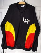 "XL 'LRG BRAND"" A RESOLUTIONARY CLOTHING COMPANY JACKET COAT BLACK/RED/YELLOW"