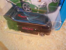 HOT WHEELS CUSTOM VW DRAG BUS BATMAN