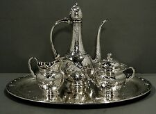 Tiffany Sterling Tea Set & Tray                   ISLAMIC