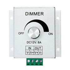 Aluminium Case Single Channel Knob Dimmer Controller for LED Strip Light