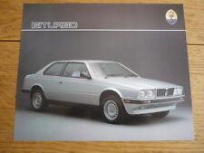 MASERATI Biturbo Spyder & 425 voiture brochures -3 JM
