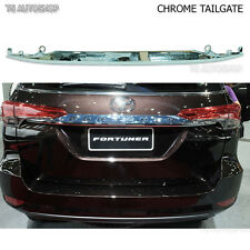 For New Toyota Fortuner 2016 2017 Genuine Parts Chrome Line Strip Tailgate Trim
