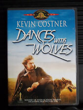 Dances With Wolves  DVD Kevin Costner Like New Free Shipping