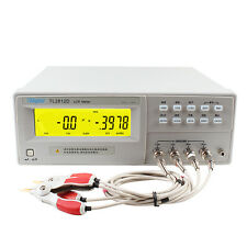 Hi-accuracy 0.25% Bench LCR Meter 10KHz Inductance Capacitance RZDQ Test TL2812D