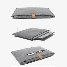"New Woolen Felt Laptop Sleeve Case Bag Cover For MacBook Air Pro Retina 12"" inch"