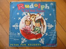 Rudolph The Red Nosed Reindeer Hark The Herald First Noel Peter Pan Record