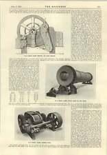 1915 Edgar Allen Swinging Jaw Stone Breaker Ball Mill