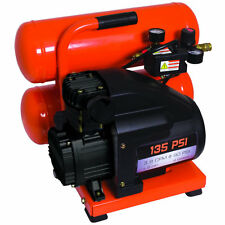 Industrial Air Contractor 1.5-HP 4-Gallon Twin Stack Air Compressor