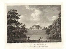 the seats of nobility & gentry 1787 -1815 engraving - cusworth in yorkshire