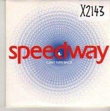 (CN215) Speedway, Can't Turn Back - 2003 DJ CD