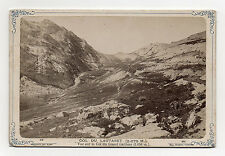 PHOTO - CABINET- COL DU LAUTARET - GALIBIER - GRENOBLE - EUG. ROBERT - Vers 1880