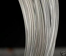 AWG20 0.8MM Solid Core UPOCC SILVER Audio BARE WIRE 12M