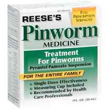 PIN WORM MEDICINE REESES, PYRANTEL PAMOATE SUSPENSION - 1 OZ
