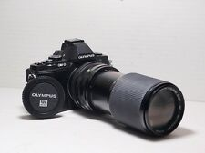 80-200mm= lens 160-400mm on Panasonic G lumix HD 4K Micro 4/3 Digital SLR GX8 P1