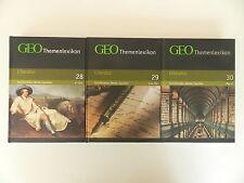 3 Bände GEO Themenlexikon Literatur A-Z 28 29 30 Schriftsteller Werke Epochen