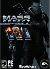 Mass Effect Trilogy 1 2 3 Collection (PC DVD) NEW