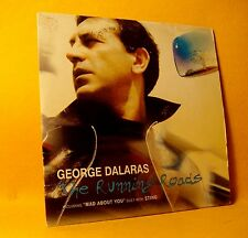 PROMO Cardsleeve Single CD George Dalaras The Running Roads 4TR 2001 Pop RARE !