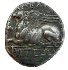 THRACE ABDERA SILVER STATER 336-311B.C  MAGISTRATE-DIONYSADOS  9.96g/21mm   M-77