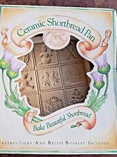 1993 Brown Bag Cookie Large Christmas Shortbread Mold Hill Designs Original Box