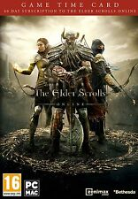 The Elder Scrolls Online 60 Days Pre-Paid Time Card - PC