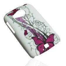 Design no. 1 Hard Back Cover per Cellulare Custodia Guscio TAPPO VASCHETTA PER HTC DESIRE C