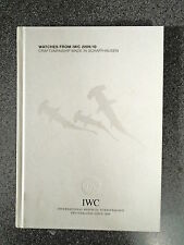 WATCHES FROM IWC 2009-10 - IWC SCHAFFHAUSEN - H/B - UK POST £3.25