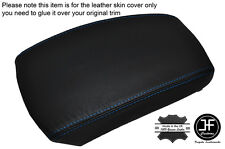 BLUE STITCHING LEATHER SKIN ARMREST SKIN COVER FITS KIA SPORTAGE 2004-2010