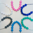 Silicone Teething Necklace for Mum that Baby can Chew Jewellery Pendant