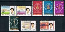 Seychelles 1977 Silver Jubilee SG 393/400 MNH