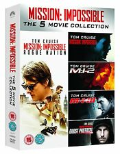 Mission Impossible 1-5 DVD Box set New and Sealed