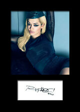 RITA ORA #1 Signed Photo Print A5 Mounted Photo Print - FREE DELIVERY