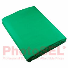 PhotoSEL BK13CG Chroma Key Chromakey Green Screen Background Backdrop 3m x 6m