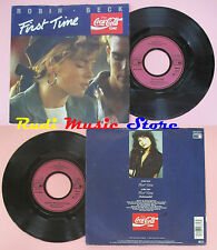 LP 45 7'' ROBIN BECK First time 1988 COCA COLA METRONOME 872 374-7 cd mc dvd