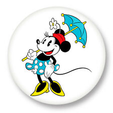 "Pin Button Badge Ø25mm 1"" Minnie Mouse Walt Disney Dessin Animé"