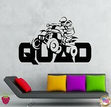 Wall Stickers Vinyl Decal Quad Speed Cars Racing Extreme Sport  (z1943)