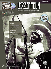 LED ZEPPELIN DRUM PLAY ALONG BOOK + CD JOHN BONHAM NEW