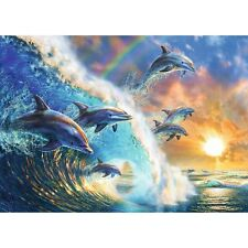 Dancing Dolphins 1,000 Piece Puzzle