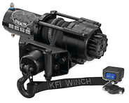 ATV WINCH KFI 2500 WINCH STEALTH SERIES 2500 LBS WINCH SYNTHETIC CABLE