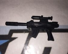 XL-14 Machine Gun (black) w/Infrared Sight Vintage 1992 Cobra G.I.Joe Accessory
