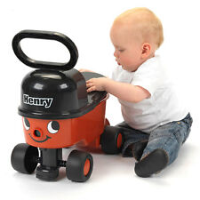 Casdon Henry Red Sit n Ride Hoover Car Vehicle Drive Boys Outdoor Toys Games