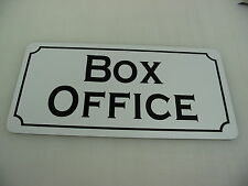 BOX OFFICE Metal Sign 4 Play House Theater Back Stage Drama Class