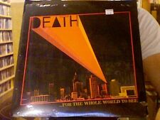Death ...For the Whole World to See LP sealed vinyl Drag City RE reissue