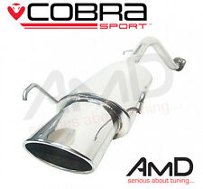 Cobra Sport MG ZR 1.8 160 Stainless Steel Rear Silencer Upgrade - Back Box