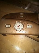 Morris Minor series MM splitscrean glove compartment cover and intrument cluster