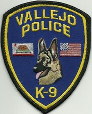 California vallejo police k-9 GHF patch police insigne chiens guide 2013