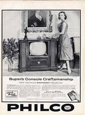1959 Philco Television Model 4698-R Mastercraft TV  PRINT AD